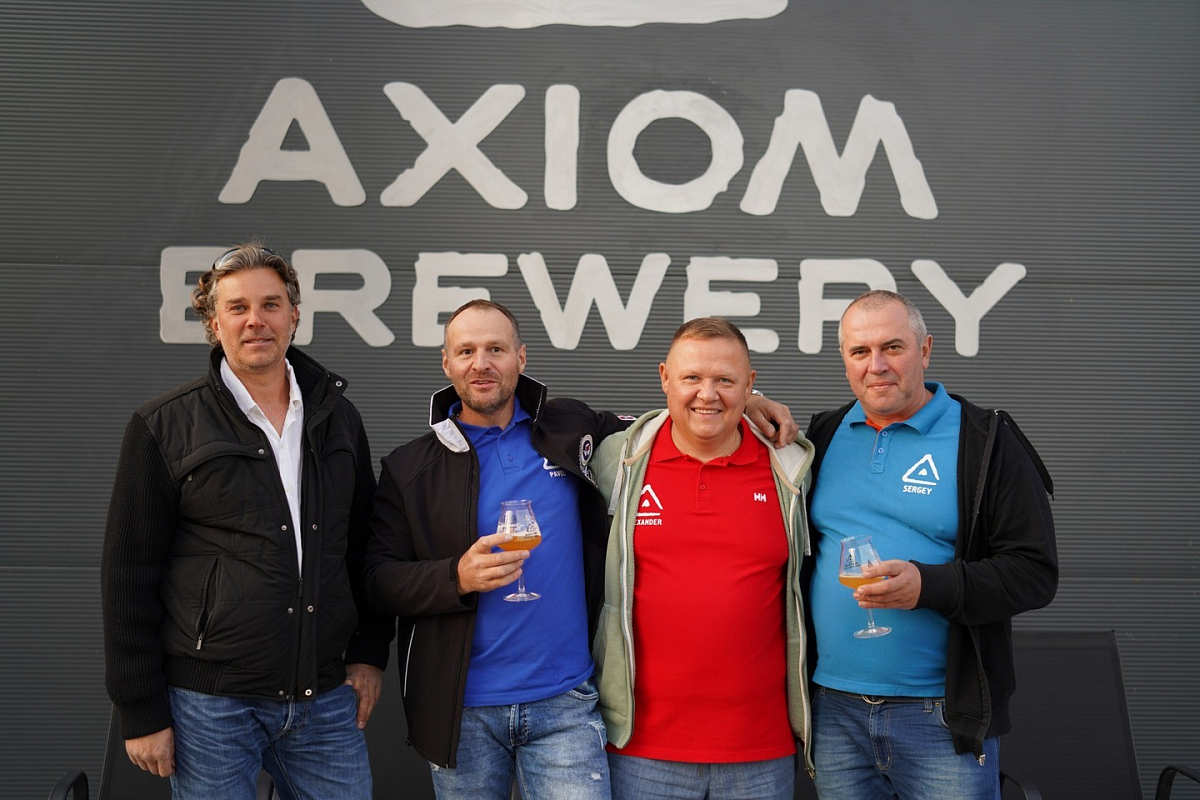 Axiom Brewery is finally officially launched!